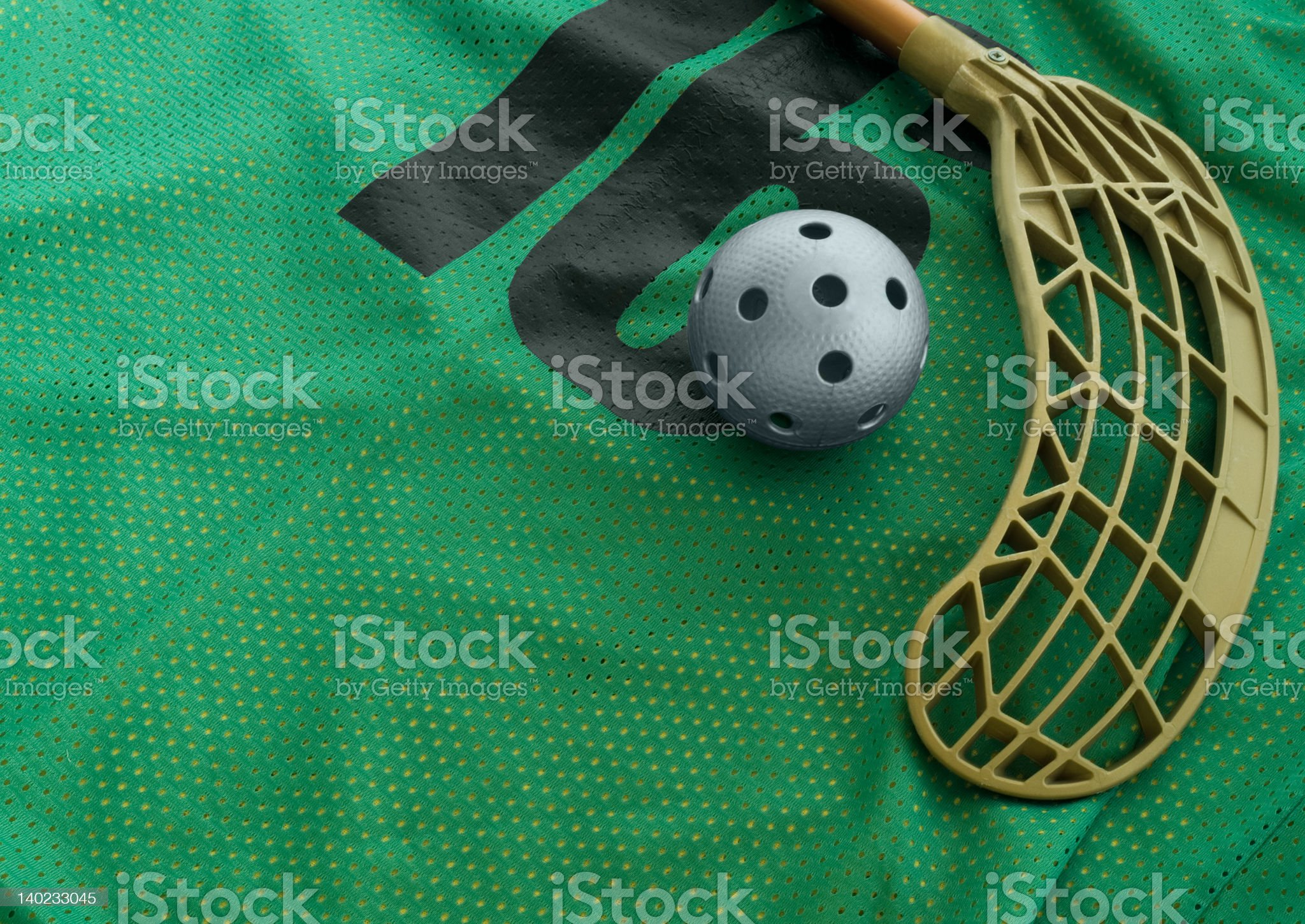 Floorball equipment 1 royalty-free stock photo