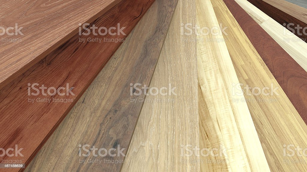 Flooring laminate or parqet samples stock photo