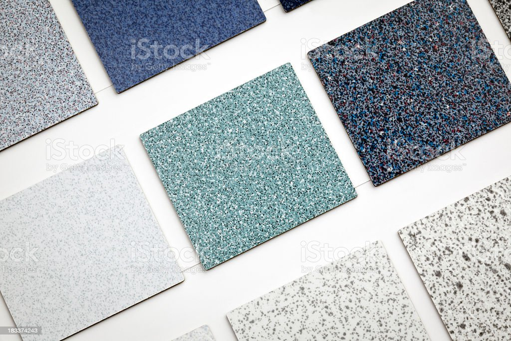 Flooring Samples royalty-free stock photo