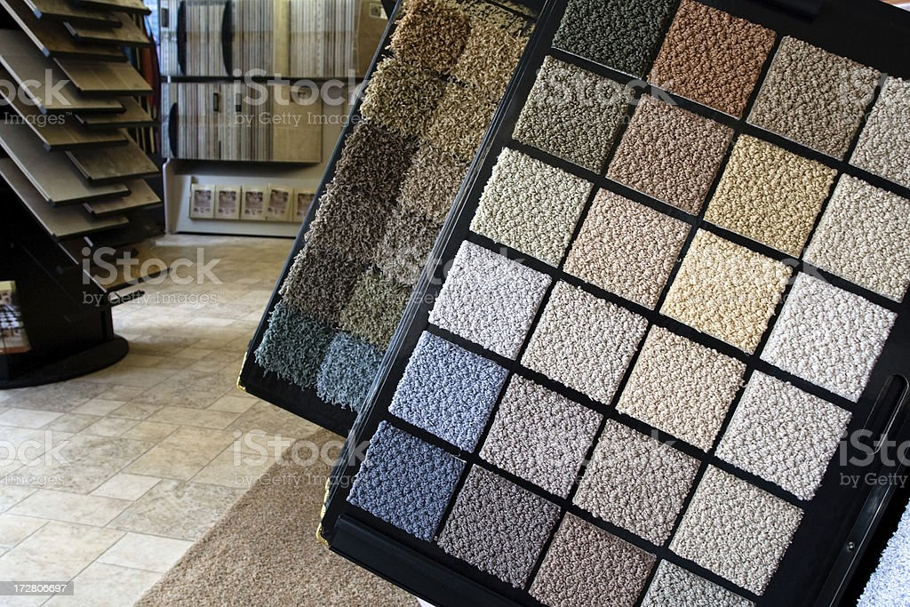 Flooring Store stock photo