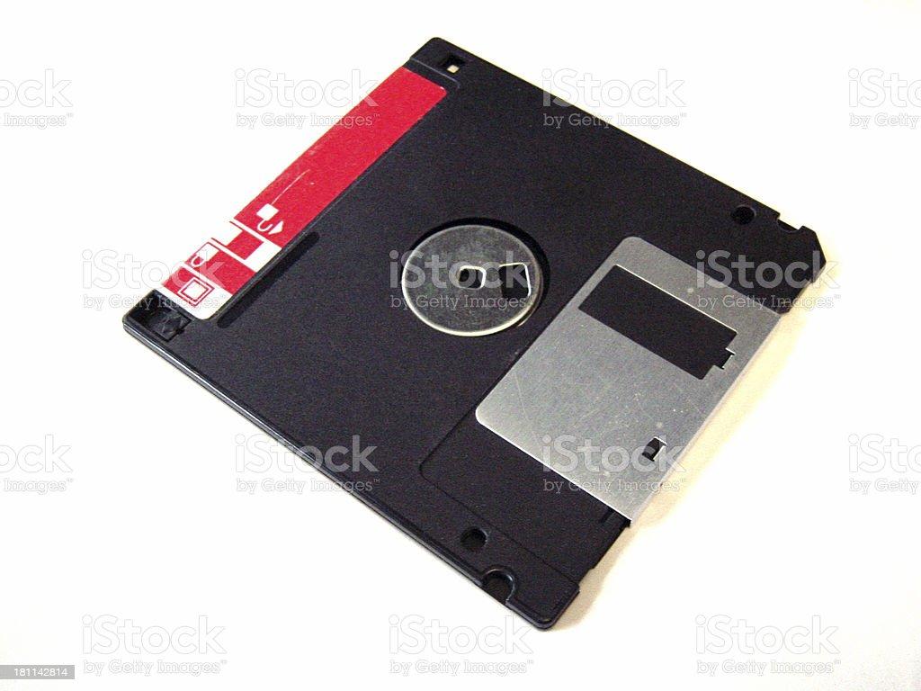 Floppy Disk Detail stock photo