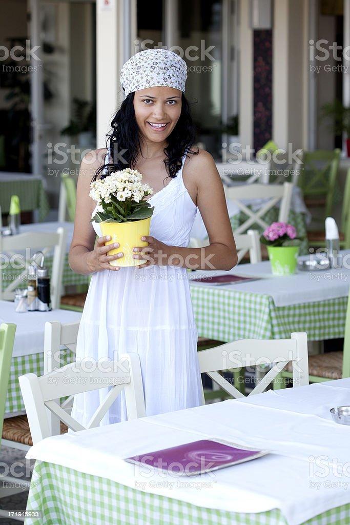 floral arrangement royalty-free stock photo