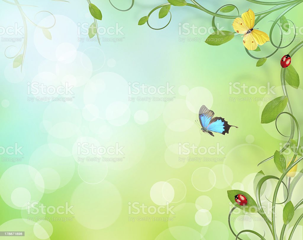Floral background royalty-free stock photo