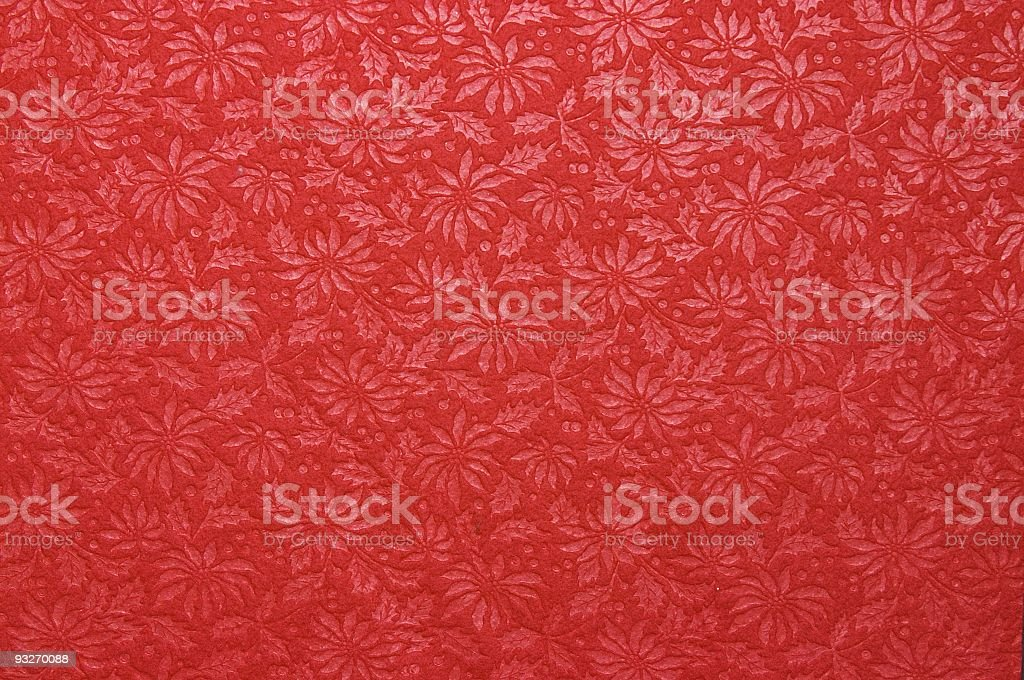 Floral Background - Poinsettia royalty-free stock photo