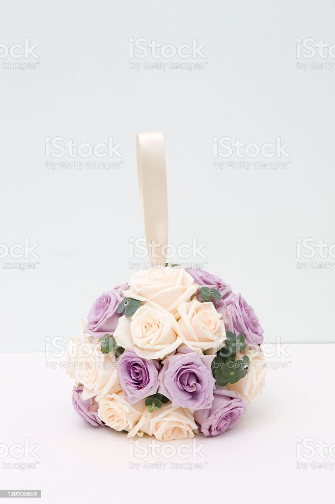 Floral Ball Bouquet royalty-free stock photo