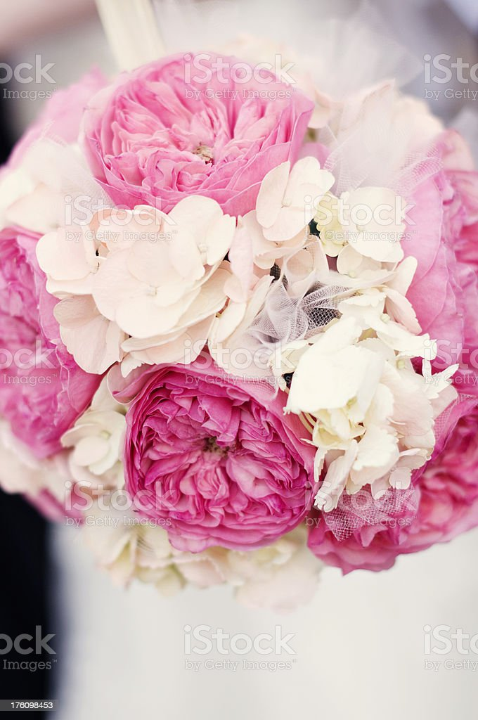Floral Ball Bouquet stock photo