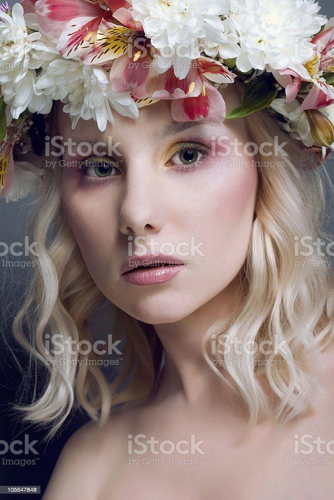 Belleza Floral foto de stock libre de derechos