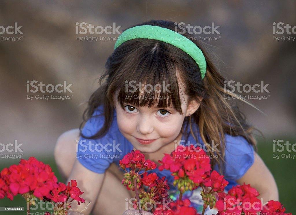 Motivo floreale bellezza foto stock royalty-free