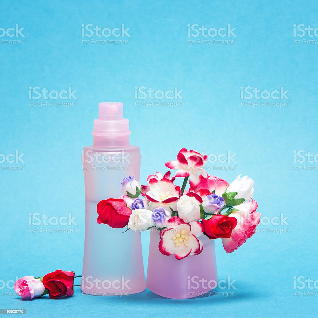 Floral fragrance stock photo