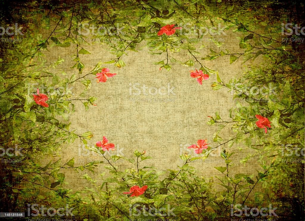 floral fram royalty-free stock photo