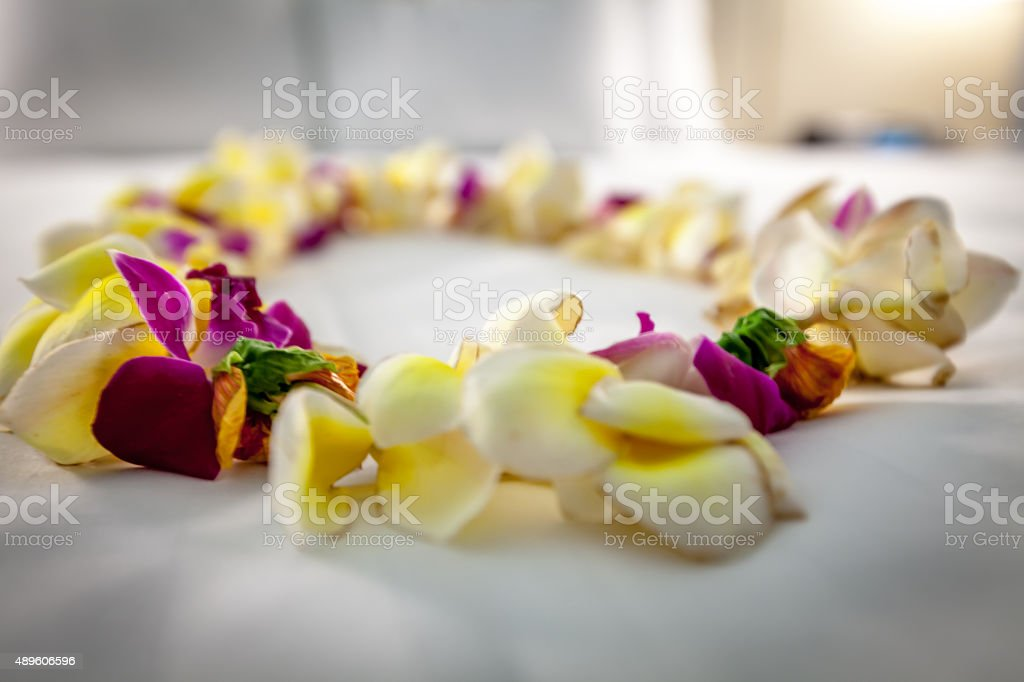 Floral Lei stock photo
