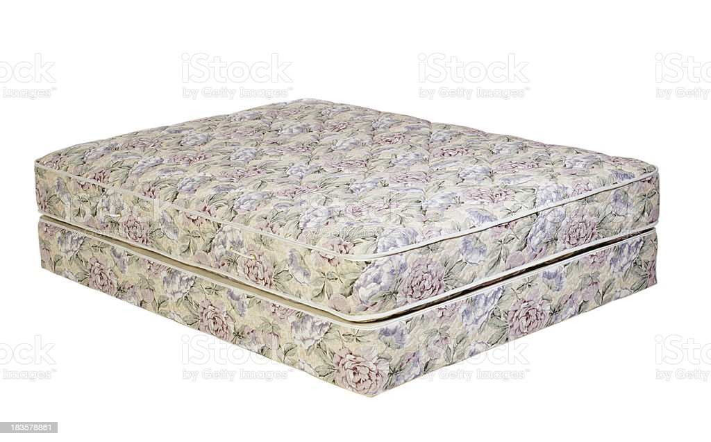 Floral Mattress royalty-free stock photo