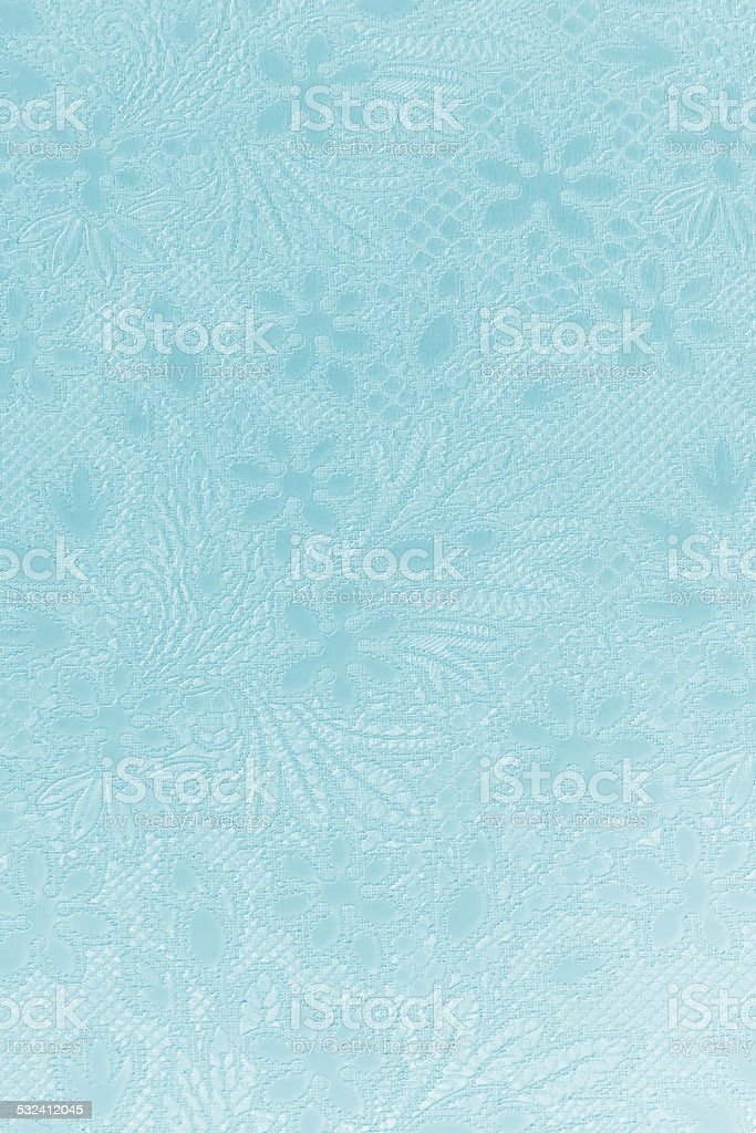 Floral ornate wallpaper texture stock photo