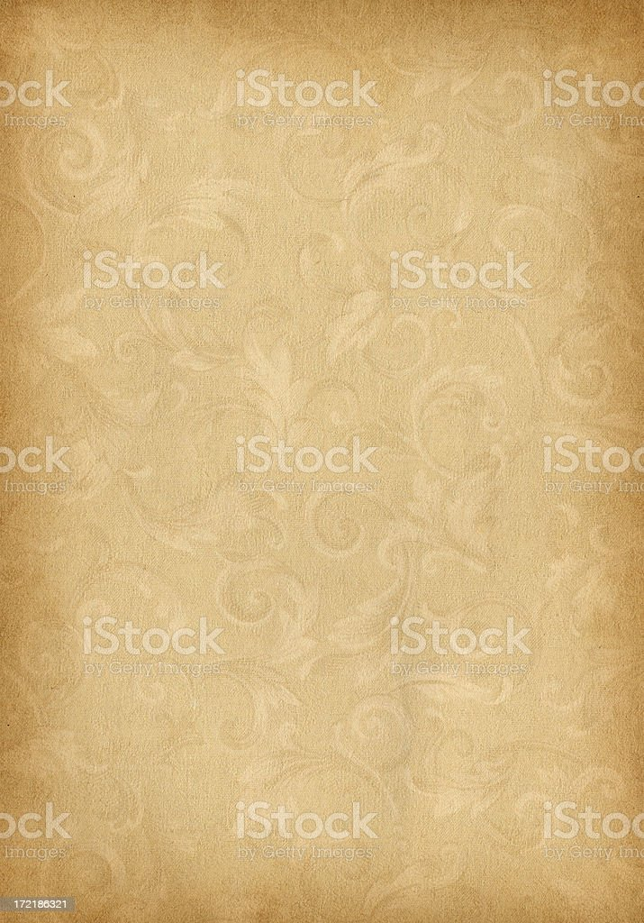 Floral Paper royalty-free stock photo