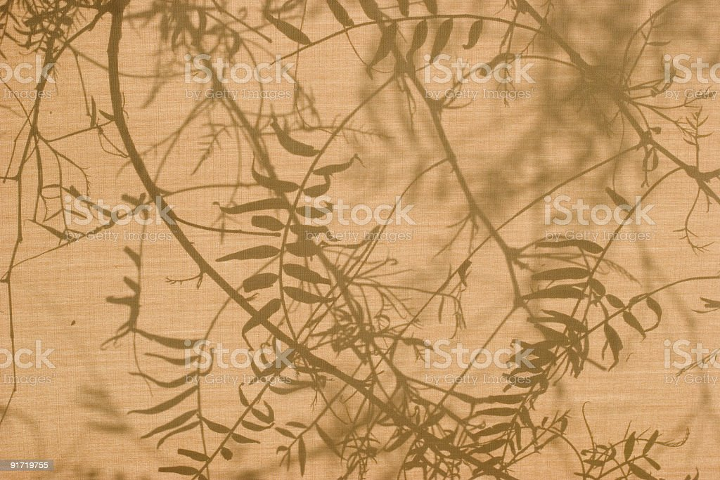 Floral pattern on canvas royalty-free stock photo