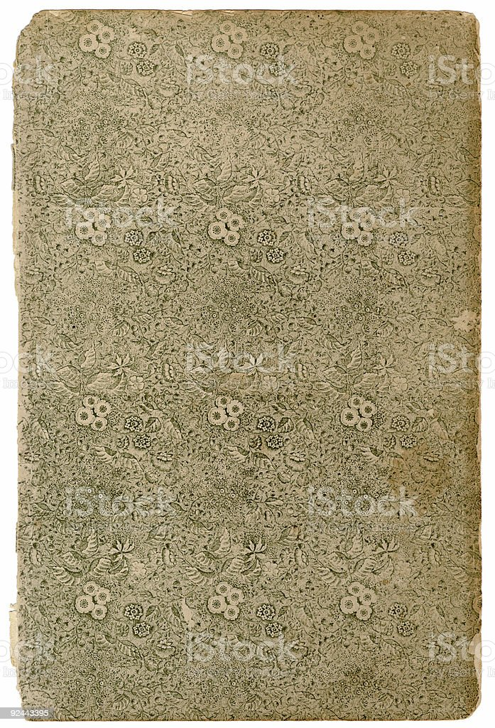 Floral print background royalty-free stock photo