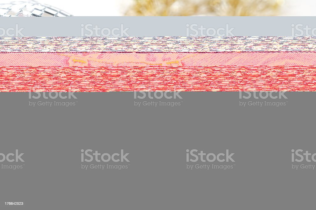 Floral Watercolor Background royalty-free stock photo