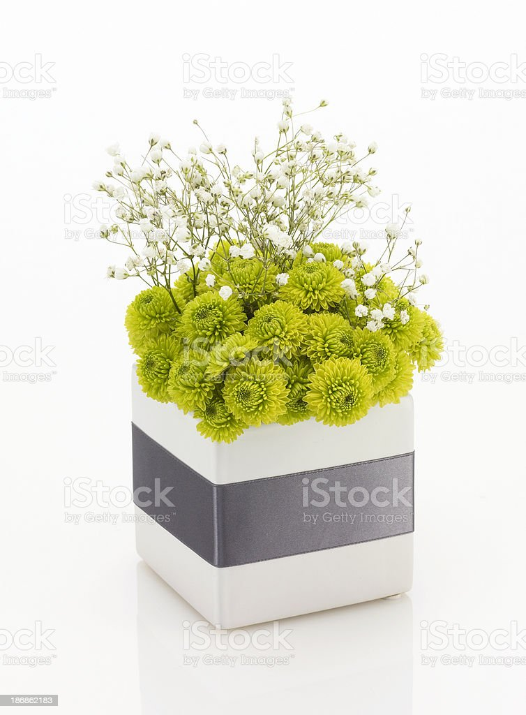 Floral-Vase 1 royalty-free stock photo