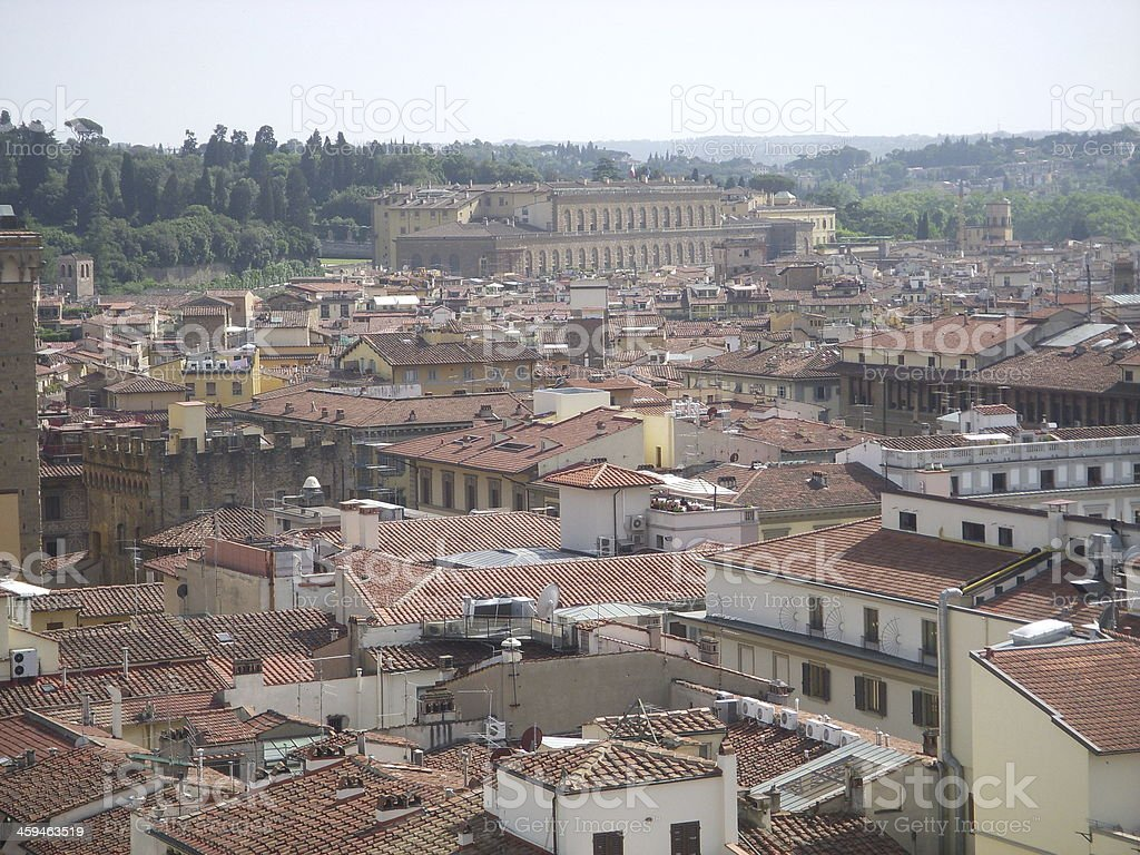 Florence at the Campanille stock photo