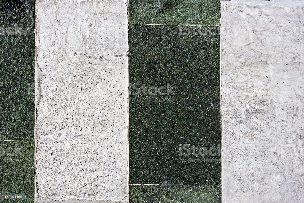 Florence Baptistery Marbles, Architectural Texture Background stock photo