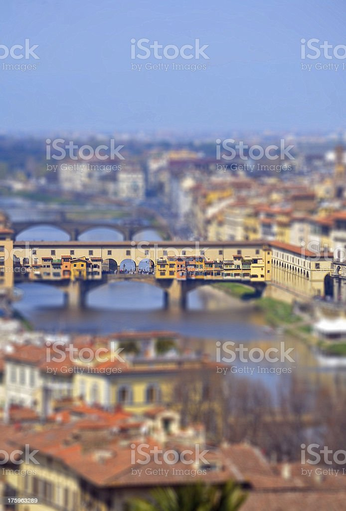 Florence Bridge royalty-free stock photo