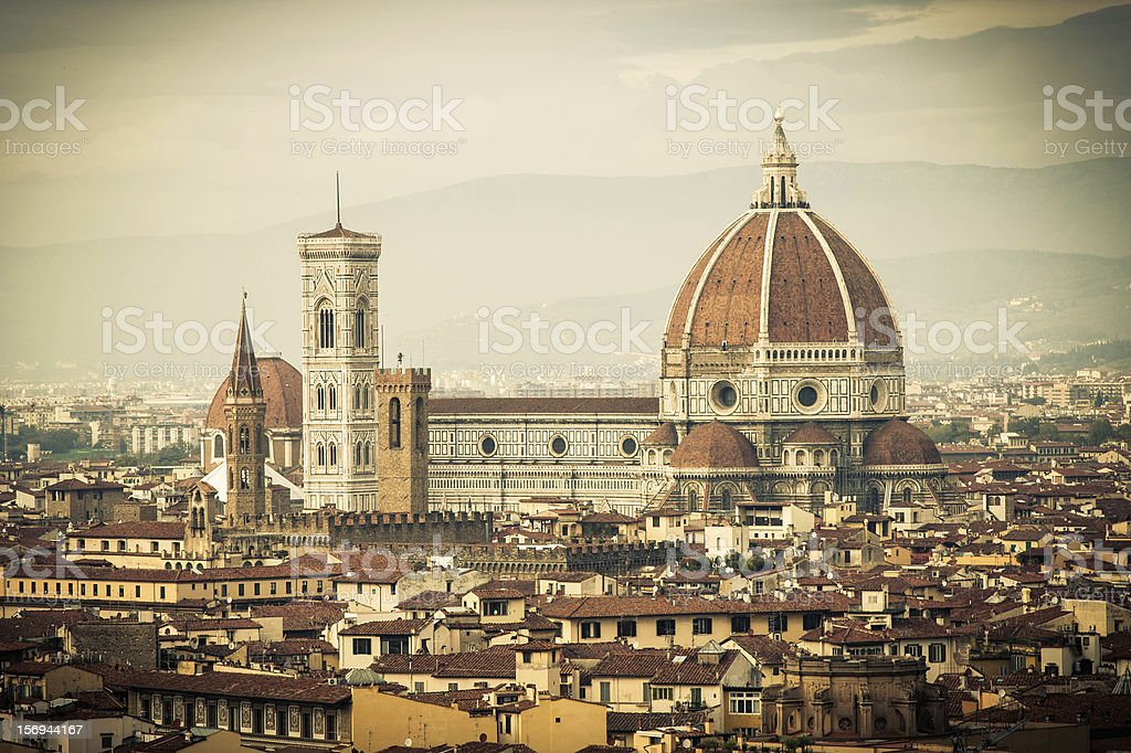 Duomo di Firenze royalty-free stock photo