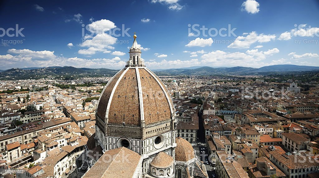 Duomo in Florence stock photo