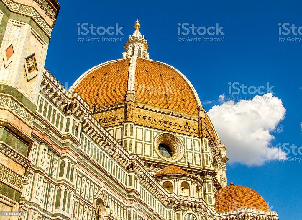 il Duomo Firenze stock photo