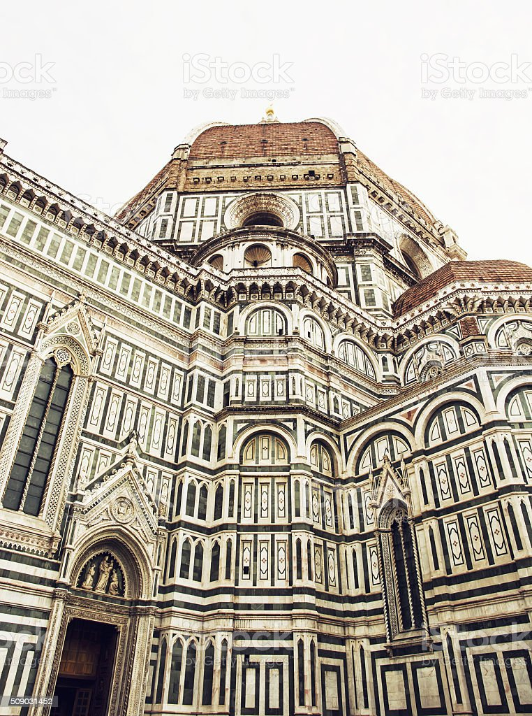 Florence cathedral Santa Maria del Fiore (Duomo), Italy stock photo