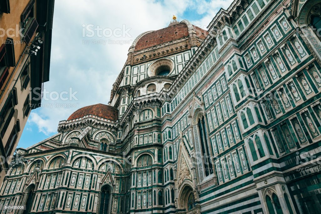 Florence Cathedral Santa Maria del Fiore stock photo