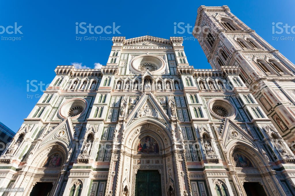 Florence Cathedral view,Italian landmark stock photo