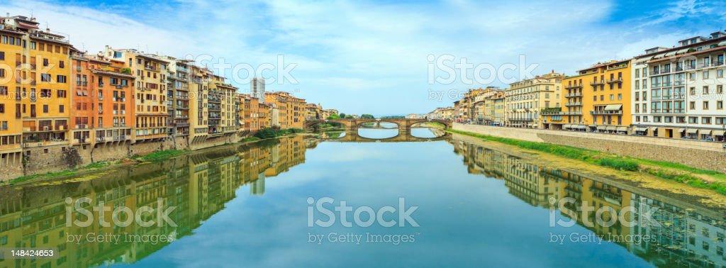 Florence city panorama stock photo