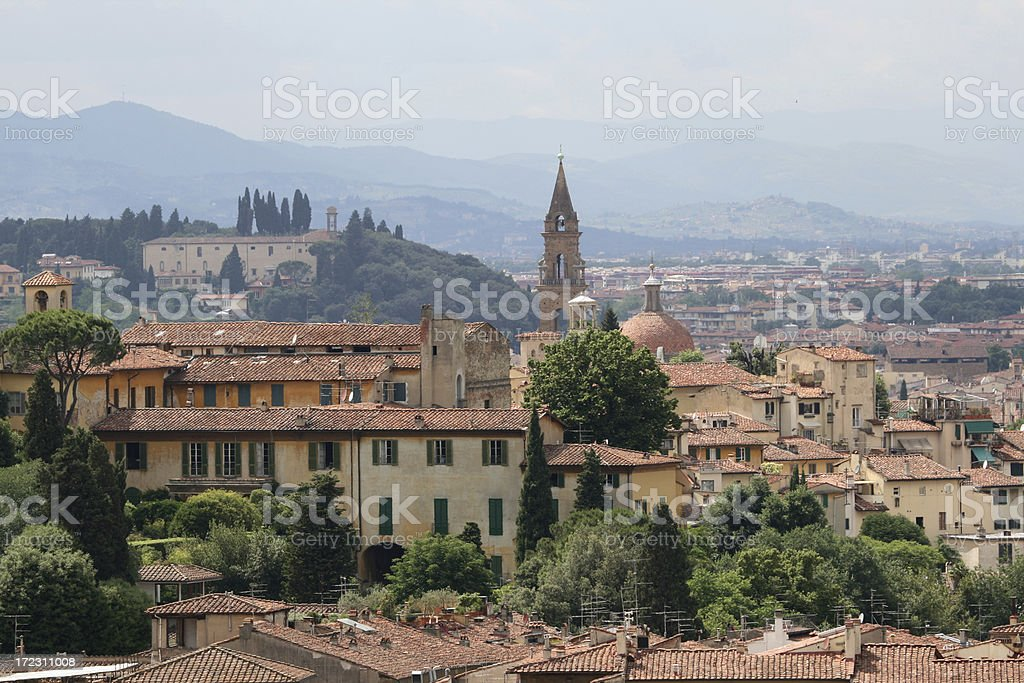 Florence cityscape 2 royalty-free stock photo