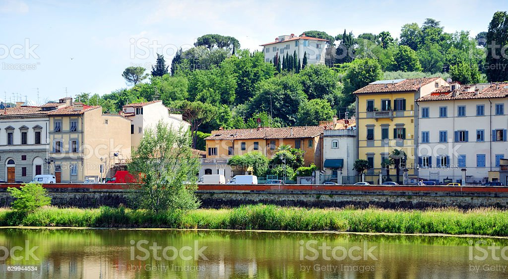 Florence cityscape, Italy stock photo