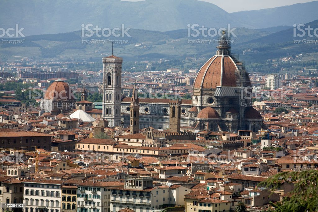 Florence Cityscape royalty-free stock photo