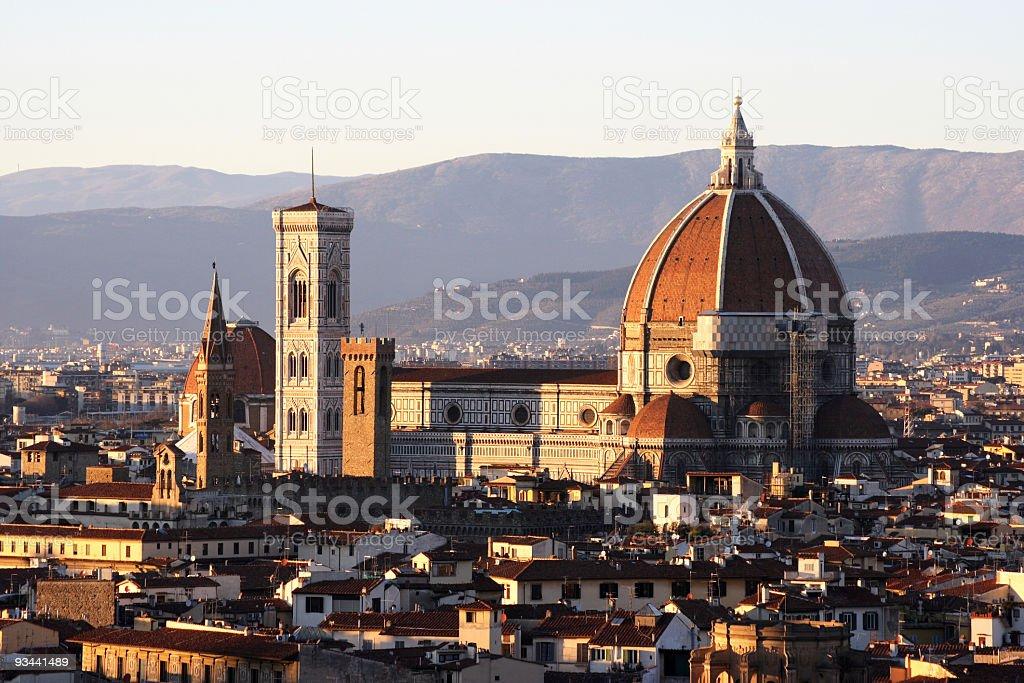 Florence cityscape royalty-free stock photo