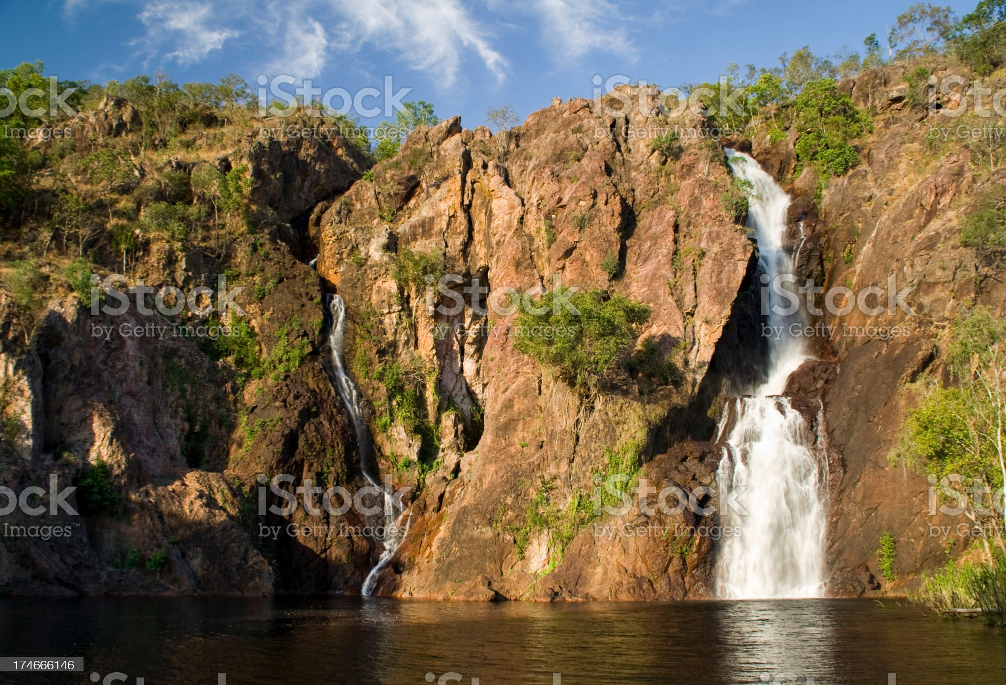 Florence Falls, Litchfield National Park royalty-free stock photo