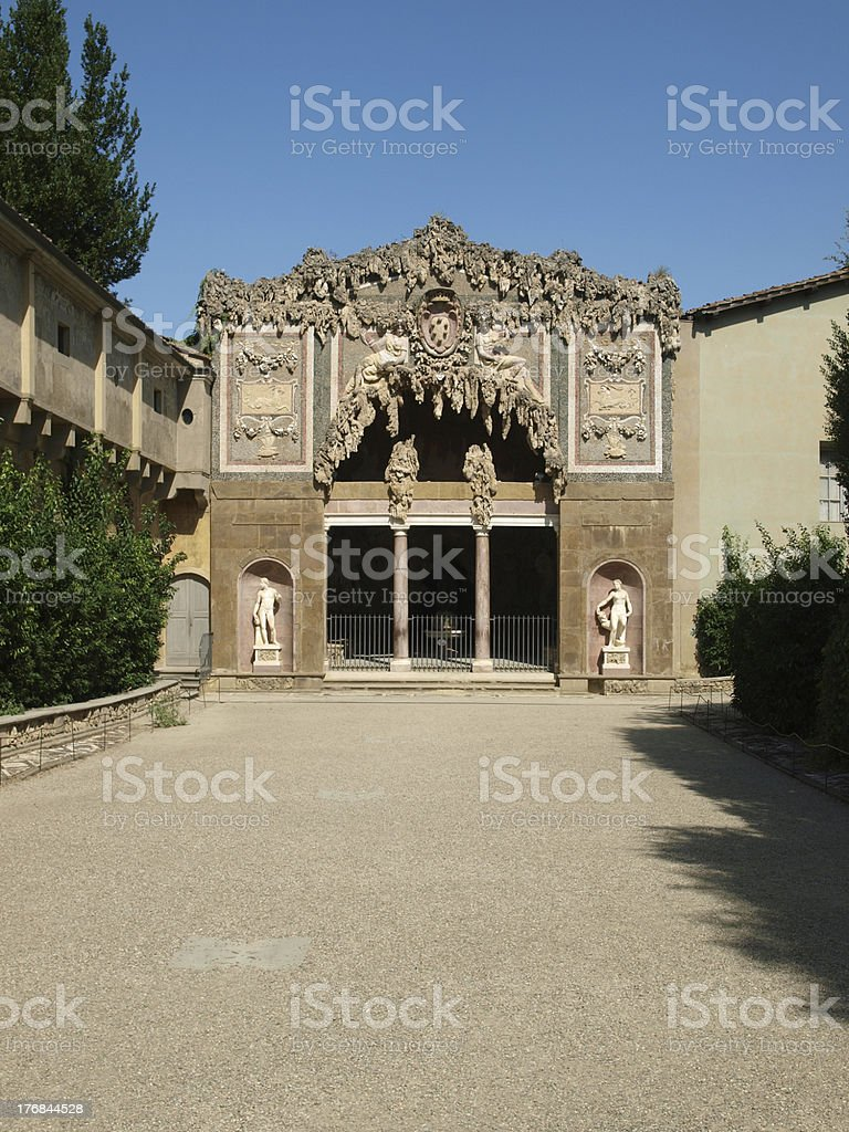 Florence - Grotto by Buontalenti stock photo