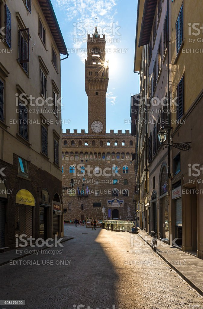 Florence, Italy - The capital of Renaissance's art stock photo