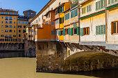 Florence, Italy. The Ponte Vecchio