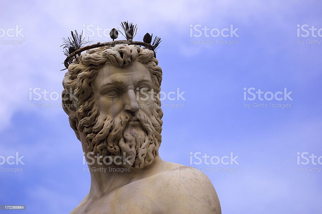 Firenze Neptune royalty-free stock photo