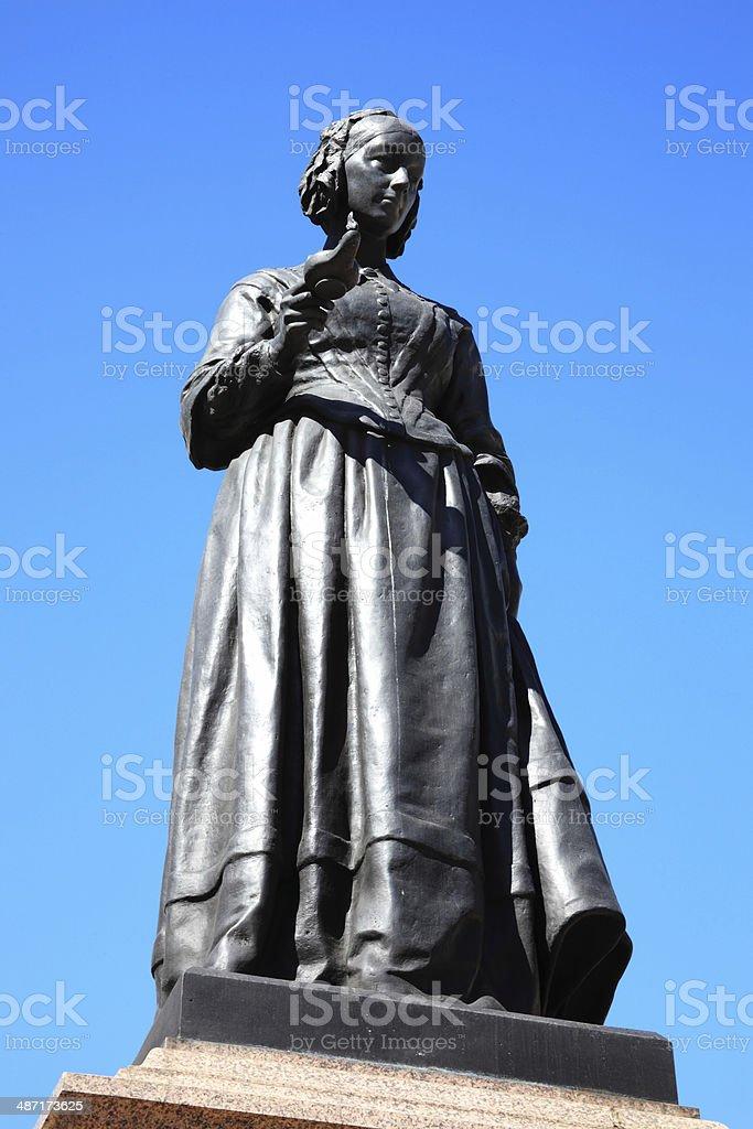 Florence Nightingale stock photo
