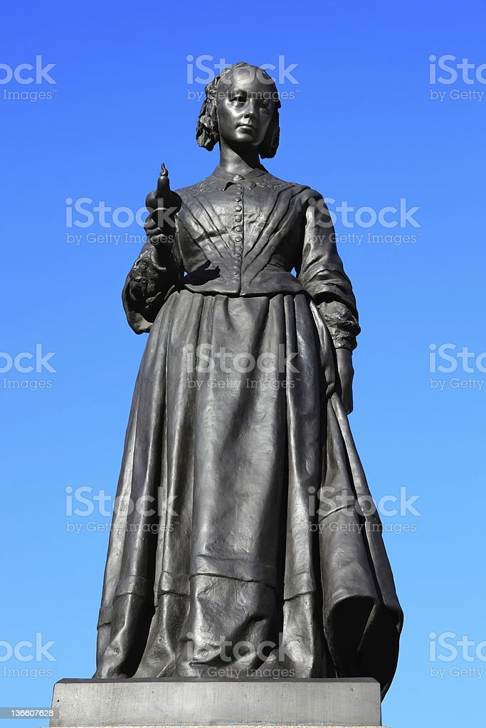 Florence Nightingale Statue royalty-free stock photo