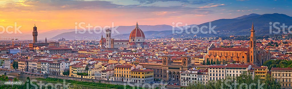 Florence Panorama. stock photo