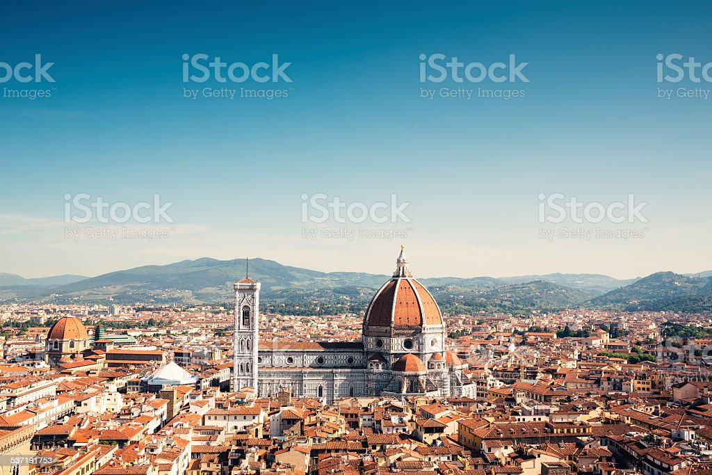 Florence Panorama stock photo