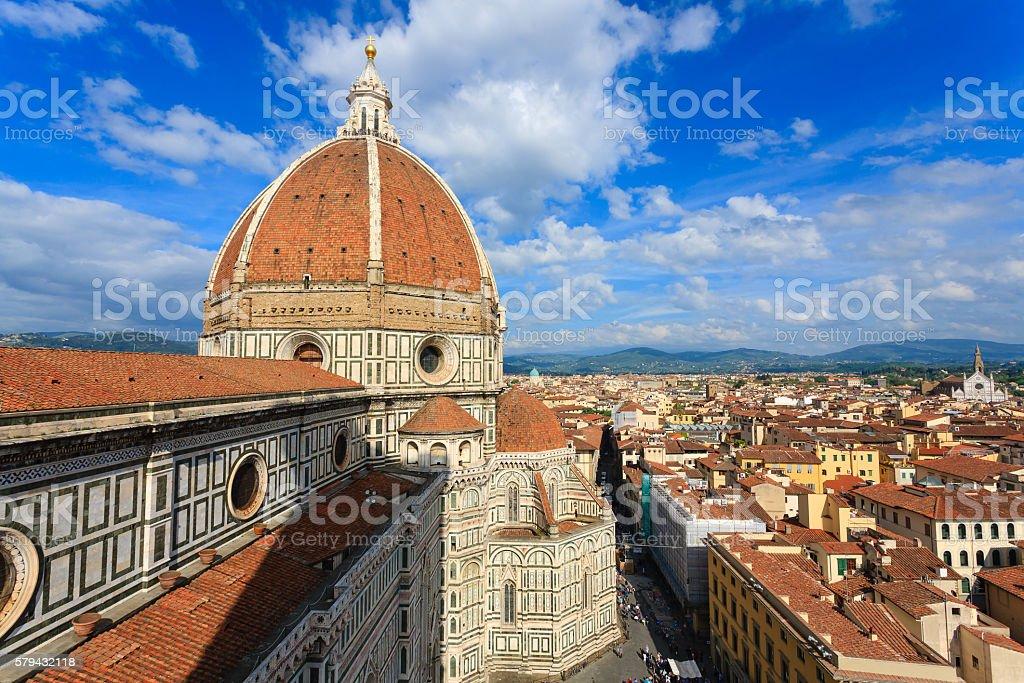 Florence panorama stock photo