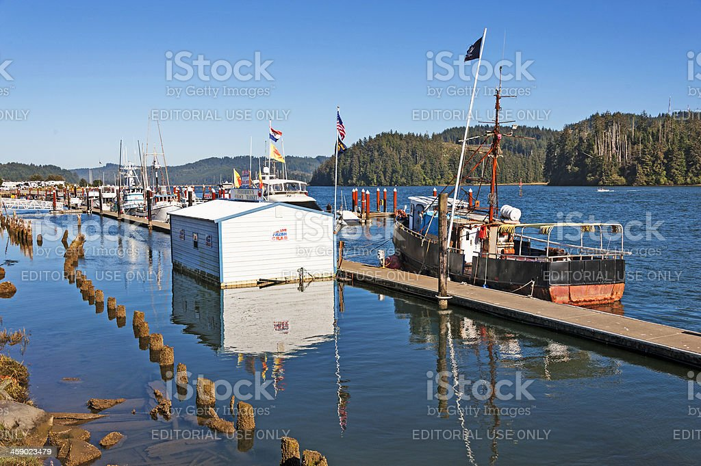 Florence Public Pier royalty-free stock photo