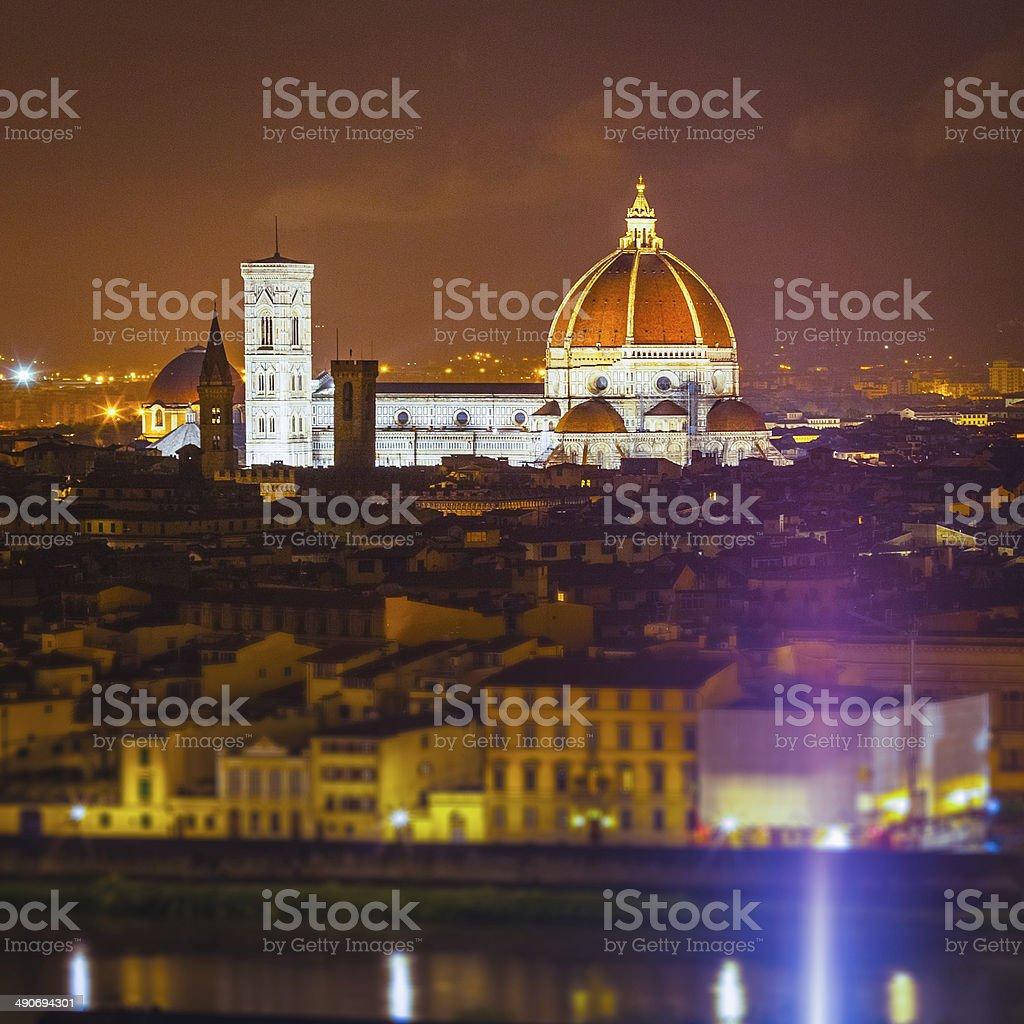 Florence, Santa Maria del Fiore stock photo