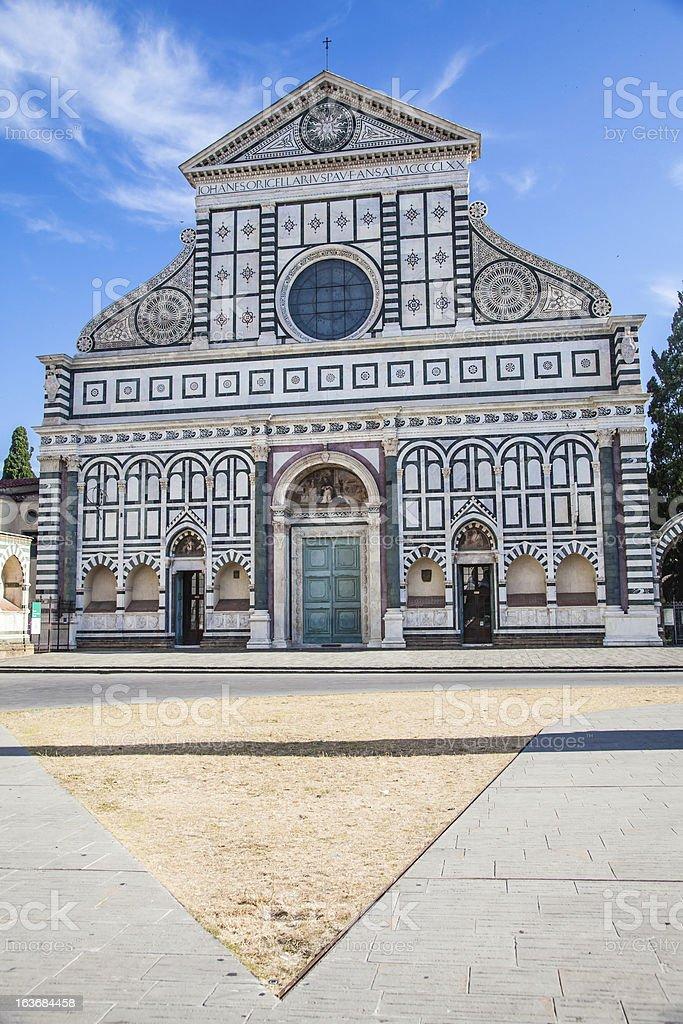 Florence - Santa Maria Novella royalty-free stock photo