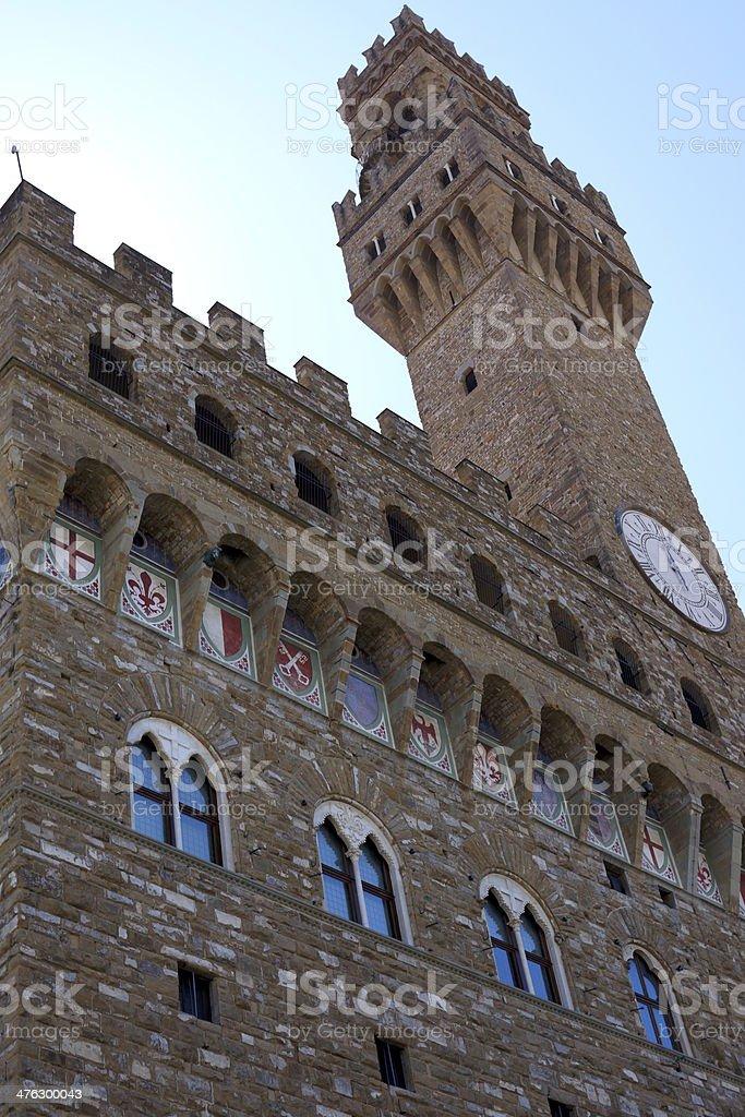 Florence, Signoria's Palace royalty-free stock photo